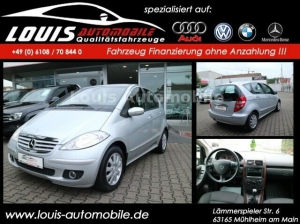 Mercedes-Benz A-Klasse A 170/Klima/Alu/AHK/Teilleder/PDC