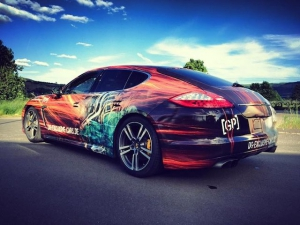 Porsche Panamera Turbo S Porsche PCCB TOP DESIGN