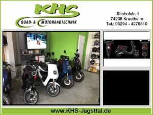NIU M+Sport 48V, 1200W Elektro