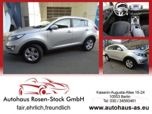 Kia Sportage 2,0 Vision 2WD,Navig,SHZ v+h