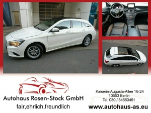 Mercedes-Benz CLA 200 Shooting Brake CDI 7G-Tr,Navig,Leder,Panorama