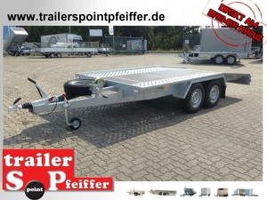 TPV TL-EU2 Anhänger 135 er Aufbau 100 KM/H Schloss