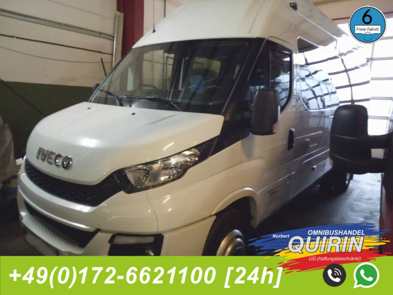 Iveco Daily A65C17 ( 24 Sitzer Rosero First - wenig km ) Euro 6 preiswert.