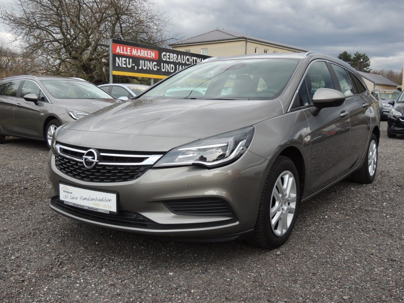 Opel Astra K 1 4 T Sports Tourer Edition