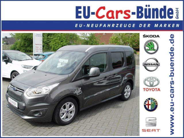 Ford-Tourneo Connect 1.0 EcoBoost Titanium PDC/Panoramadach/Klimaautom