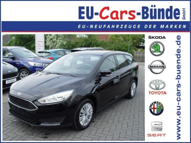 Ford-Focus 1.6 TI-VCT Trend Turnier Winterpaket