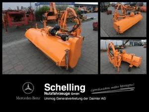 Unimog VKS 4 - Kehrmaschine - Unimog - Besen Schlepper