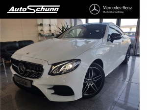 Mercedes-Benz E 200 Coupe 4M AMG COMAND DRIVE + PANORAMA360°
