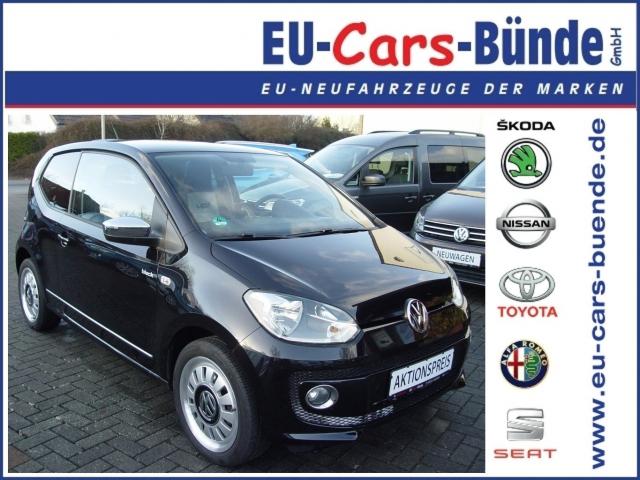 VW-up! black up! Navi, Sitzheizung, Winterreifen