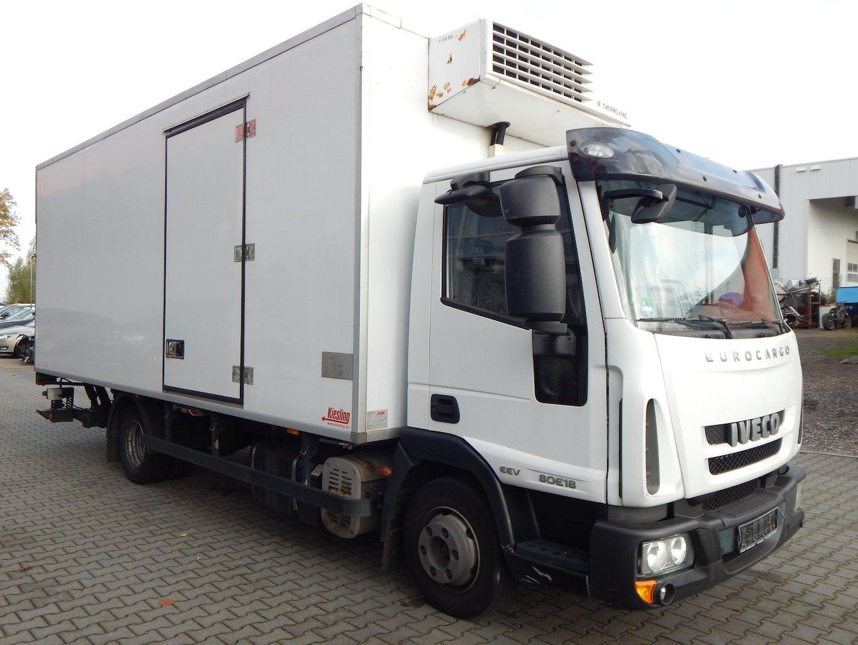 Iveco ML 80 E 18 Kühlkoffer/LBW/2 x Luftfeder/EU5