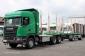 Scania G 490 6X4 EURO 6 Kurzholzzug mit BEFA Anhänger