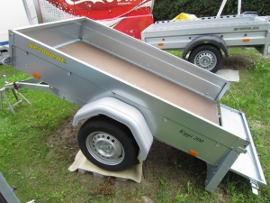 Brenderup Kippi 200 Kippbare Ladefäche !  z.GG 750 kg