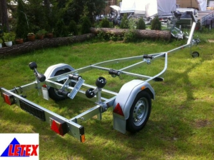 Brenderup AKTION Bootstrailer 750 kg 5,5 m Boote+Stützrad