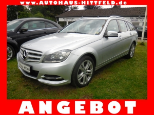 Mercedes-Benz C 200 T CDI BE Aut /7G Avantgarde NAVI Leder AHK