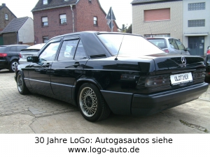 Mercedes-Benz 190 E 2.3 LPG Autogas=tanken für 48 Ct. H-Kennz.