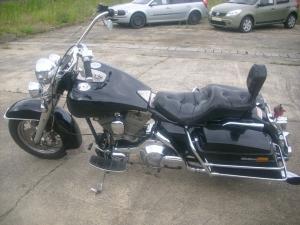 Harley Davidson FLT schöner Tourer mit Apehanger