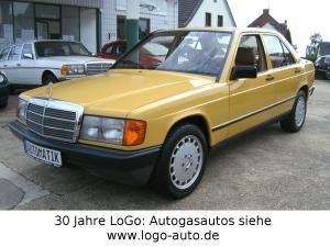 Mercedes-Benz 190 Automatic,Airbag,ABS,Sitzhzg.,Rarität,Sammler