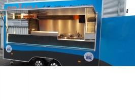 Blyss Imbiss /Food Anhänger Günstige Leasing Vorf.4,20m VOLL Günstige Finz.o.Leasing