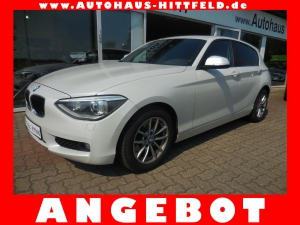 BMW 118i 5-tьr Klimaaut eSDach NaviProf Bi-Xen Alus