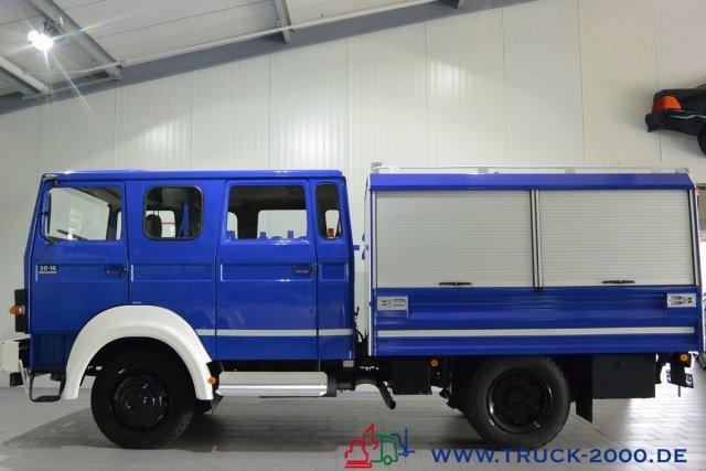 Iveco 90-16 Turbo 4x4 Mannschaft-Gerätewagen Neuwertig