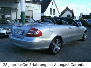 Mercedes-Benz CLK 200 Prins LPG Autogas=59 Ct tanken!Automatic