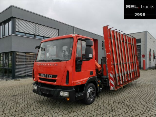 Iveco Eurocargo ML80E18 / Kran / Euro 5 / GlasTransp