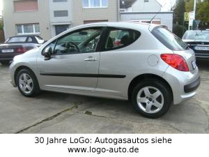 Peugeot 207 Urban Move LPG Autogas=59 Cent tanken!