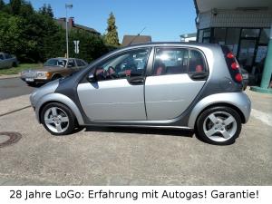 Smart ForFour PassionLPG Autogas = tanken für 53 Cent!