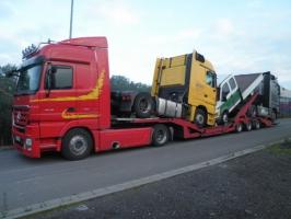 Sonstige FVG Boerner LKW Transport Tieflader 3 Achs