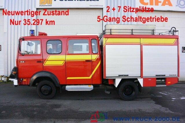 Iveco 75E16 A Mannschaft- Gerätewagen Löschpumpe Top
