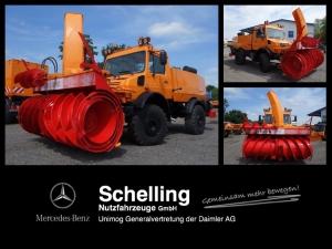 Unimog U 1700 Schneefräse Schmidt VF5L.1