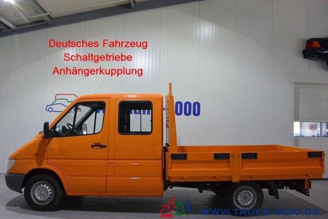Mercedes-Benz Sprinter 211 CDI DOKA 6 Sitze Standheiz. TÜV NEU