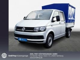 Volkswagen T6 Pritsche DoKa mit Plane, Klima, Navi, GRA