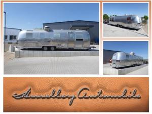 Airstream Sovereign Land Yacht Verkaufswagen Imbisswagen